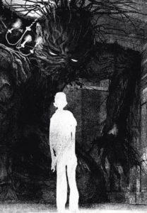 Un monstruo viene a verm:retrato psicológico de un niño