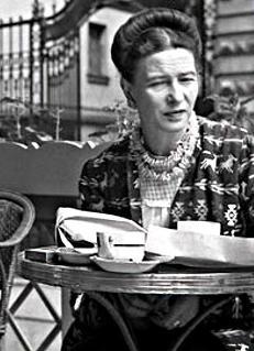 Simone de Beauvoir Escritora, profesora, filósofa y activista.