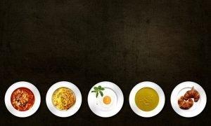 distribución energética de las comidas