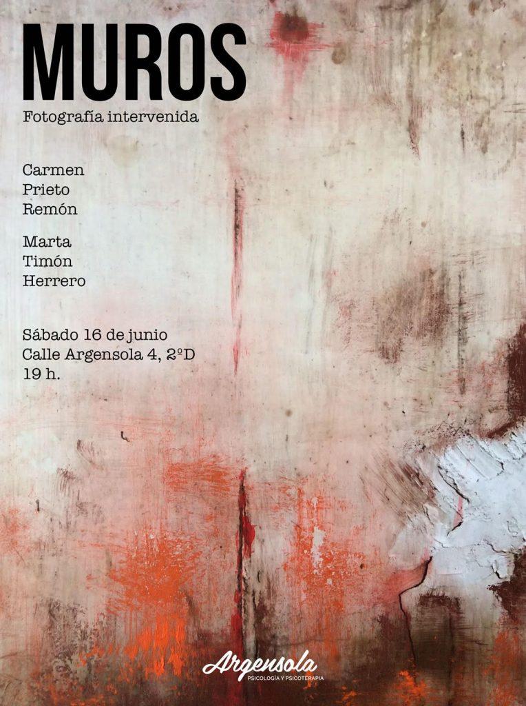 Inauguración de la obra MUROS en el espacio de Arte en Argensola