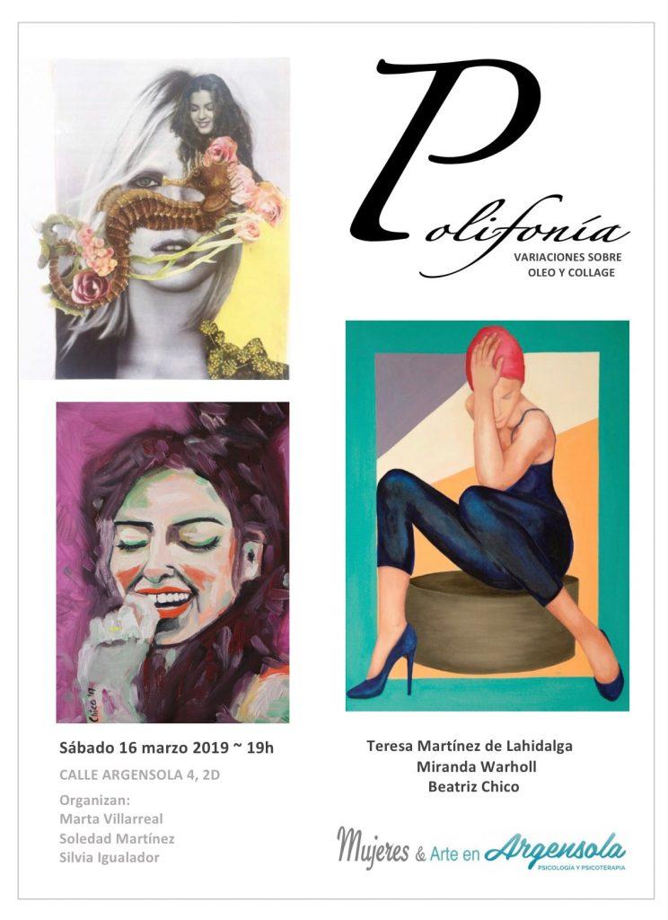 Exposición Polifonías Arte en Argensola